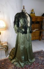 3 antique dress Fanny Gerson 1903